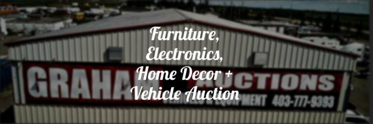 Online Auctions In Calgary